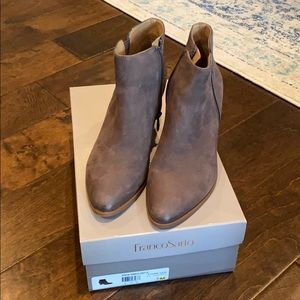 Franco Sarto grey booties